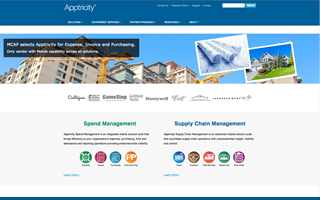Apptricity Project Screenshot